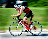 triathlons, road races, biking